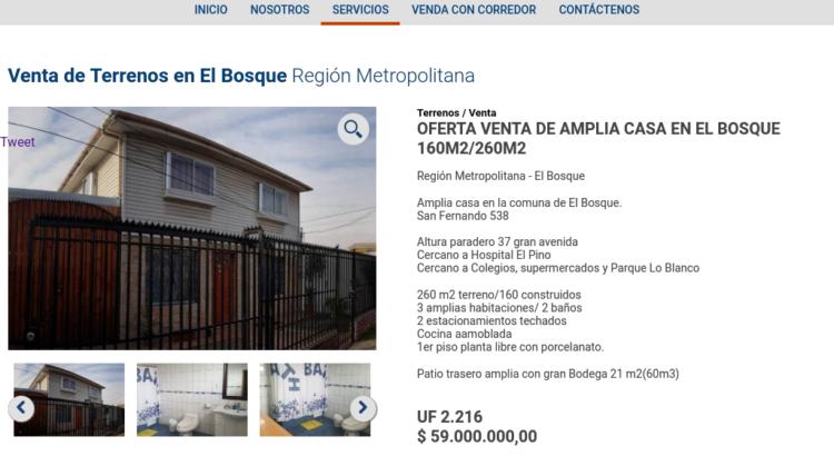 Venta de Sitios industriales en Chile