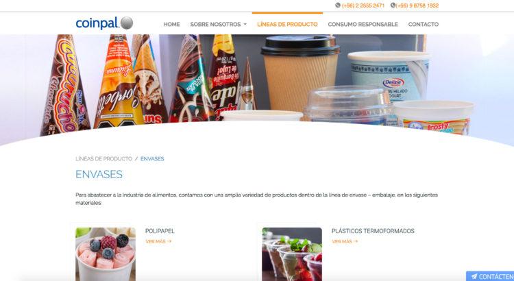 Comercializadora de cajas cerezinadas para helados en Chile