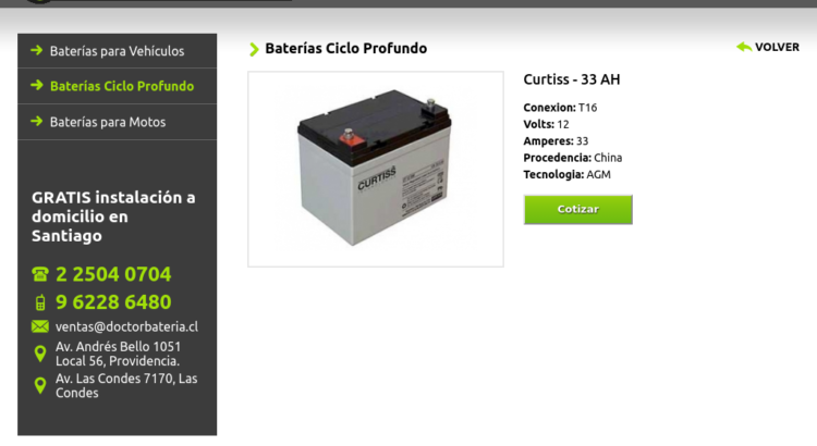 Bateria Santiago