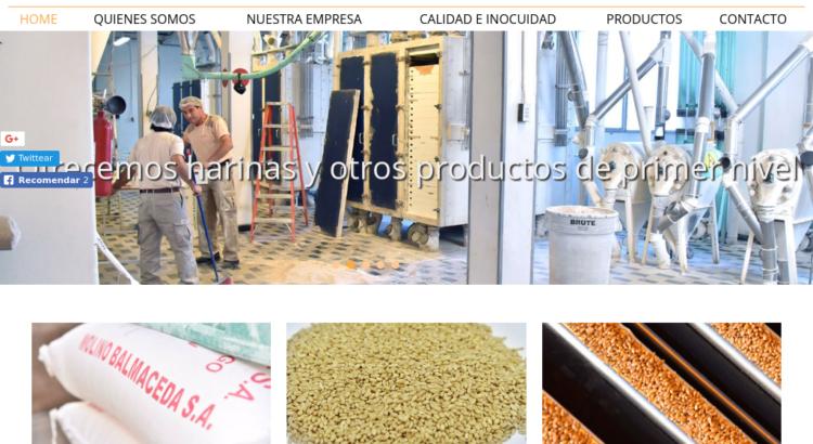 Hojuelas de trigo, cebada y centeno en Chile
