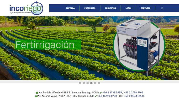 Empresa de riego en Chile