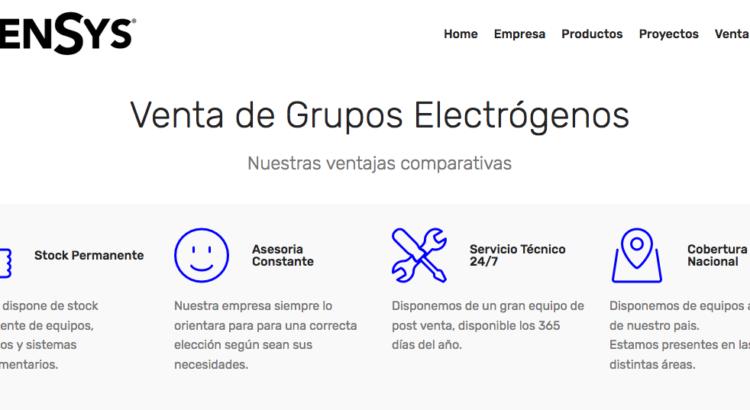 Grupo electrogeno Perkins en chile