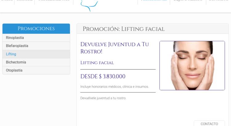 Lifting facial en Chile
